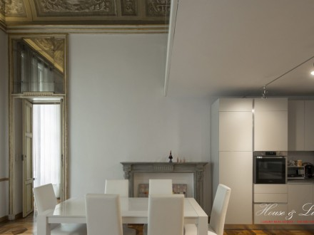 Exclusive Apartment - 245 sqm - Near Piazza San Carlo